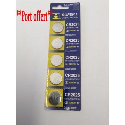 Blister pile batterie 3 volts CR2025