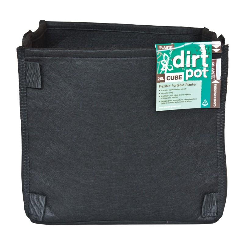 dirt pot tissu 56 litres