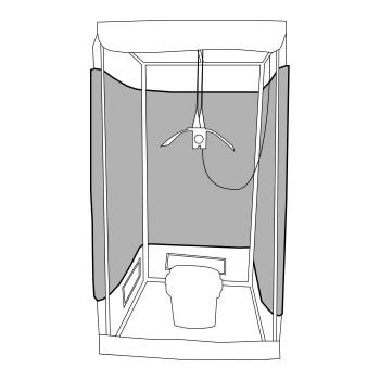 Kit ORCA Growtent 1m²