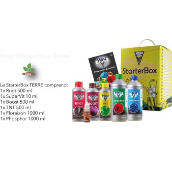 Kit Starter Pack Terre HESI