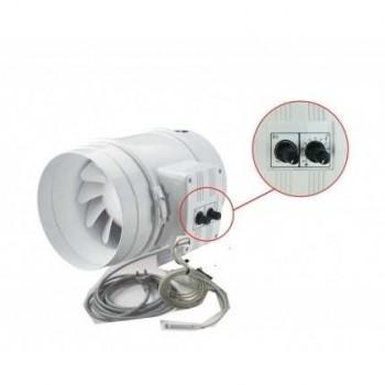 Extracteur VENTS 1040m3/H avec thermostat et variateur vitesse