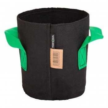 pot textile tissu 3 litres
