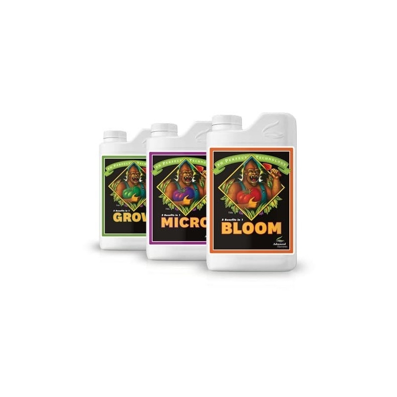 grow micro bloom ph perfect advanced nutrients