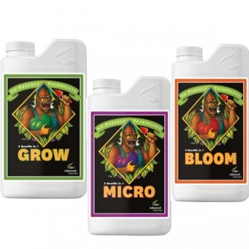 engrais advanced nutrients grow micro bloom croissance et floraison ph perfect