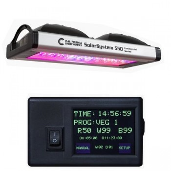 SolarSystem550 LED 400 watts