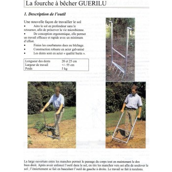 GUERILU Aérabêche 5 dents
